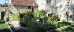 "Herb garden in the ""Le Clos de la Garde"""