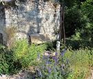 Neuer Kräutergarten im Le Clos de la Garde